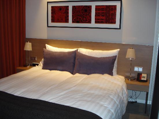 โรงแรมอะดิน่า อพาร์ทเมนท์ แฟรงก์เฟิร์ต นิวว์ โอเพอ: Sleeping area
