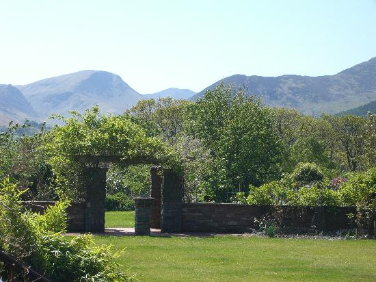 Briar Rigg House: View from the house