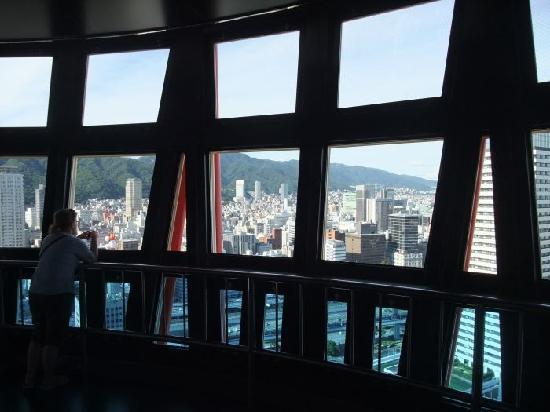 Kobe Port Tower: Observation Deck - North East View