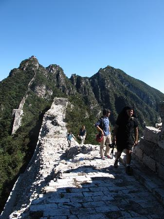 The Great Wall Hike (James Private Tour): The beginning of the trip!
