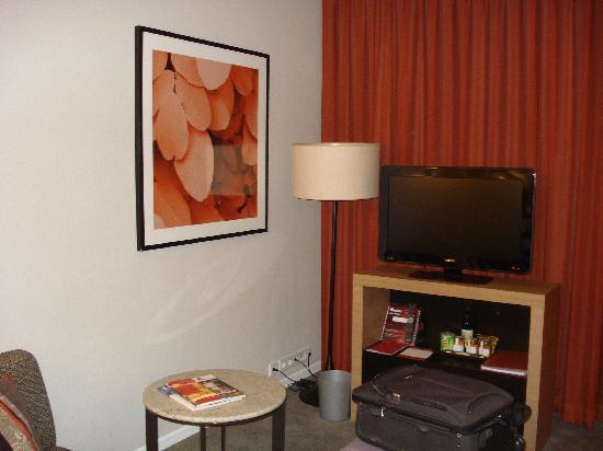 โรงแรมอะดิน่า อพาร์ทเมนท์ แฟรงก์เฟิร์ต นิวว์ โอเพอ: Sitting area