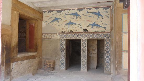The Palace of Knossos: Queen's rooms