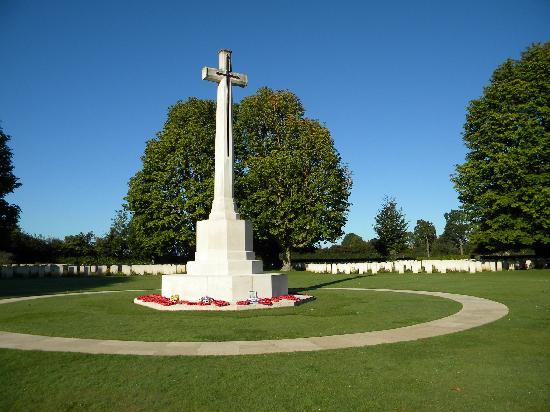 British War Cemetery: cimitero britannico Bayeux