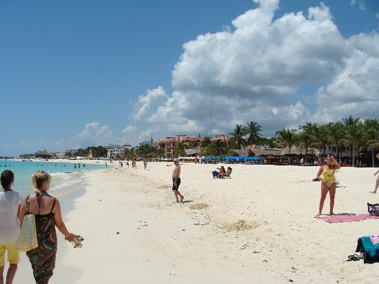 Mayan Palace Riviera Maya: Playa del Carmen beach