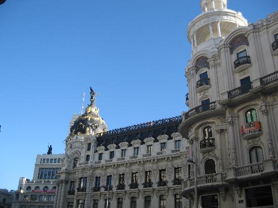 มาดริด, สเปน: gran via buildings