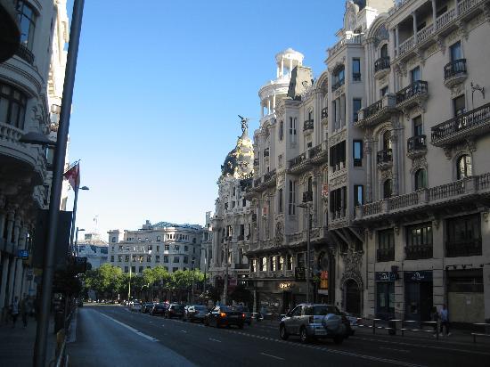 มาดริด, สเปน: gran via avenue, elegant