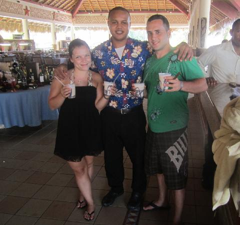 Majestic Colonial Punta Cana: With Irwin Martinez the best bar man and our dirty monkey