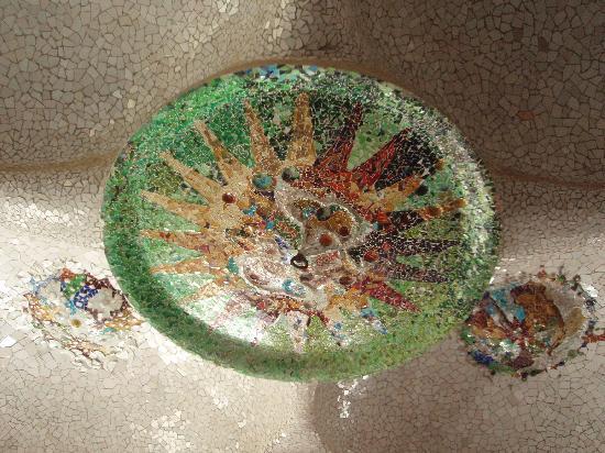 กูเอลปาร์ค: Detalle del techo