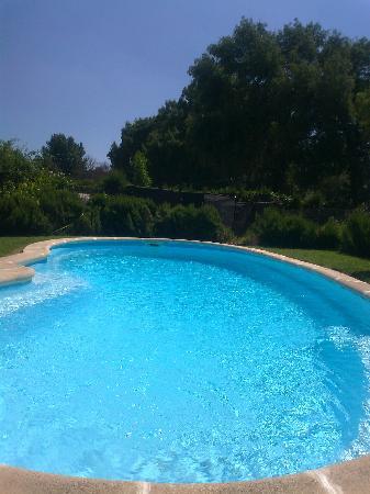 Hostal Rural Venta La Vega: piscina del hostal