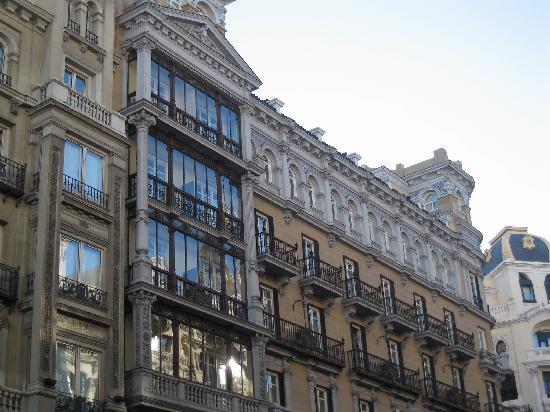 มาดริด, สเปน: house in gran via, beautifull