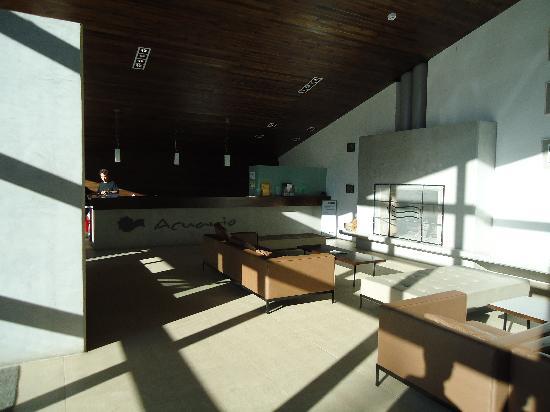 Hotel Acuario: Recepcion del hotel