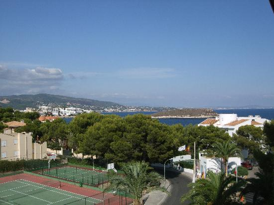 SENTIDO Cala Vinas: view from room