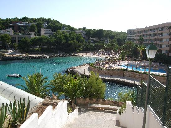 SENTIDO Cala Vinas: view from stairs