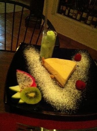 Peter's Restaurante: dessert to die for
