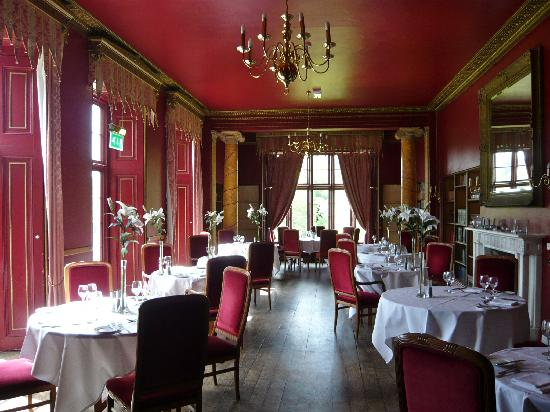 Kitley House Hotel: beautiful dining room