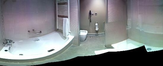 Hotel Spa Attica 21 Villalba: Panoramica Baño