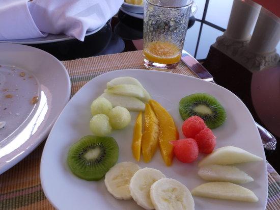 Casa Arequipa: Beautiful Fruit plate