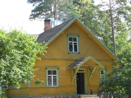 พิพิธภัณฑ์กลางแจ้งรอคคาอัลแมร์: Das Haus, in dem die Dame gekocht hat