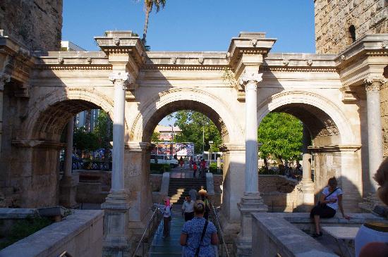 Kaleici: Hadrian's Gate