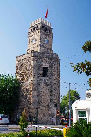 Kaleici: The Clock Tower