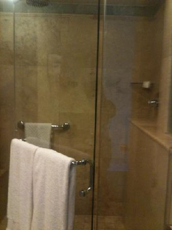 Caribe Hilton San Juan: shower