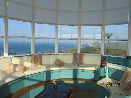 Belle Tout Lighthouse: Fav room 360 view lantern room