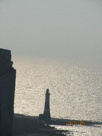 Belle Tout Lighthouse: view from lantern room