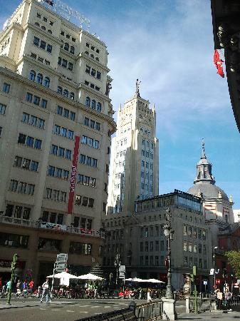 มาดริด, สเปน: interesting buildings in the ceter