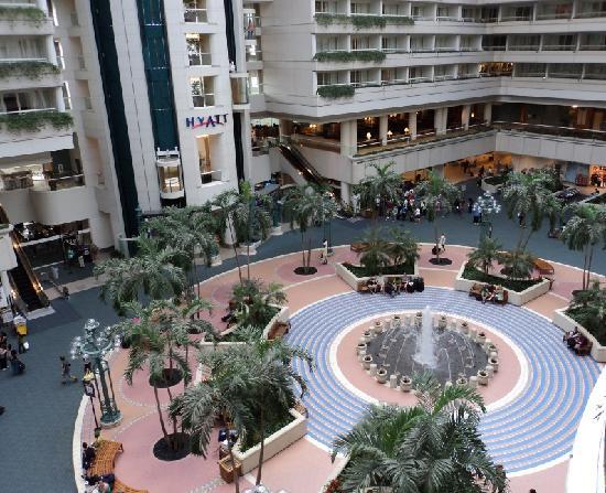 Hyatt Regency Orlando International Airport: The view from the room