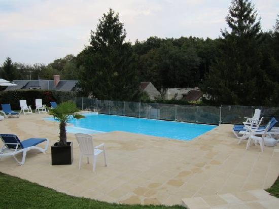 Chateau de la Menaudiere: The swimming pool