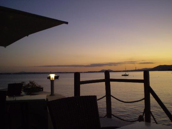 HSM President Golf & Spa: sunset from Laterraca