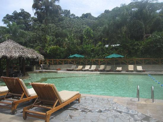Tabacon Grand Spa Thermal Resort: Hot water pool