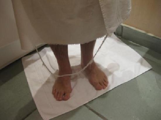 Hotel San Francesco al Monte: luxury bath towel