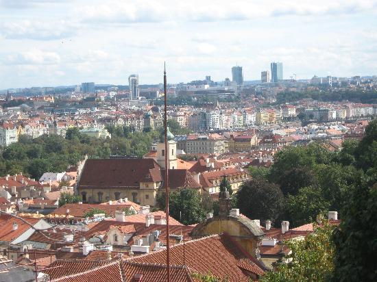 Prague Top Tour: Sight from the castle