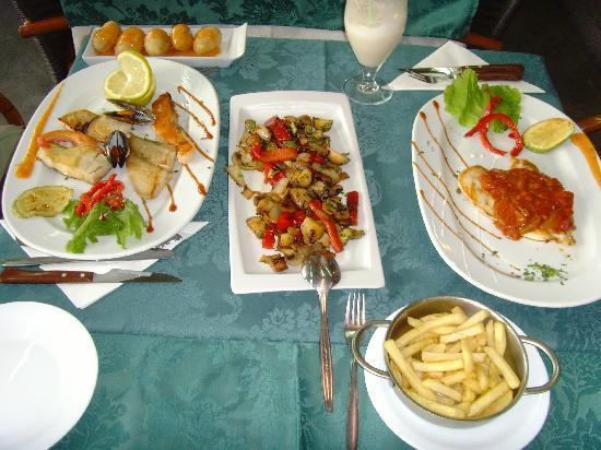 El Nublo: night 1's meal
