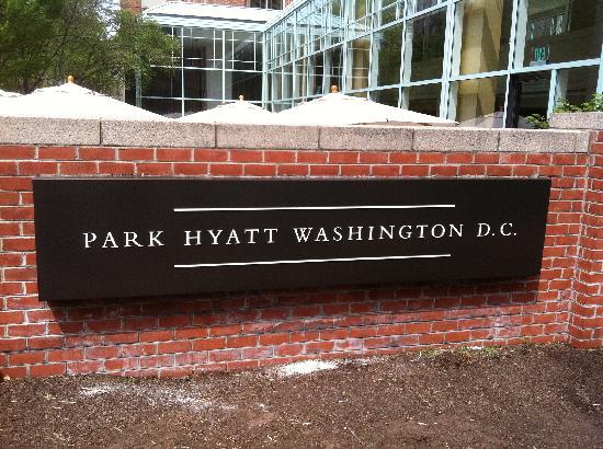 Park Hyatt Washington D.C.: Front