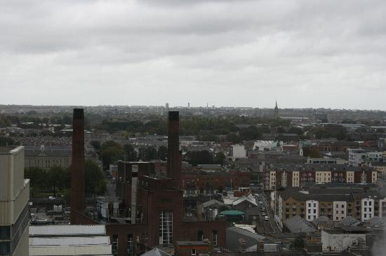 Guinness Storehouse: A view from the gravity bar.
