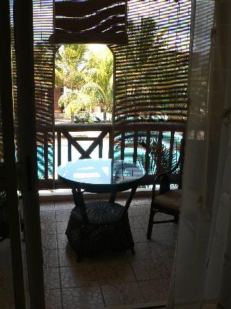 Le Palmiste Resort & Spa: terrasse
