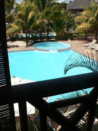 Le Palmiste Resort & Spa: vue de la terrasse