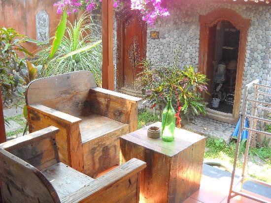 Kebun Impian: terrasse