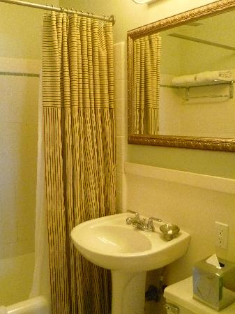 Hotel Carlton, a Joie de Vivre hotel: Bathroom - ample size for the two of us