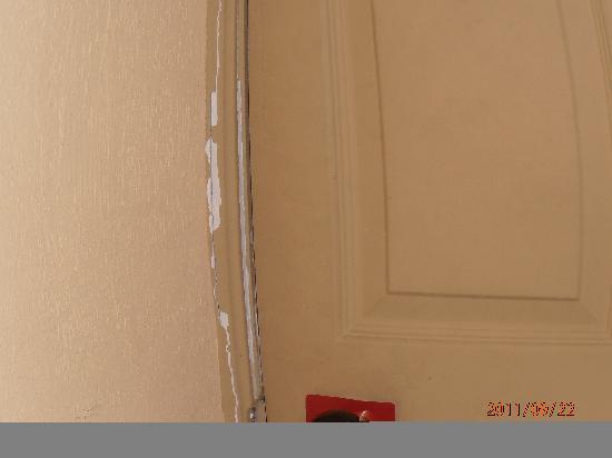 Soreda Hotel: Paintwork