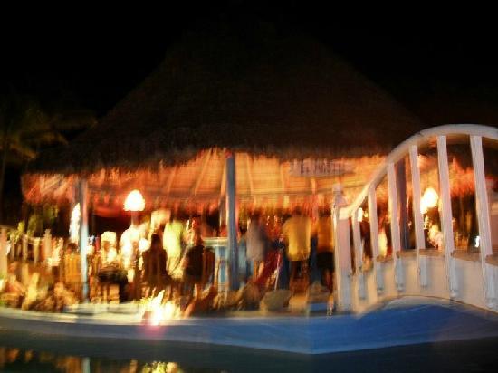 Sol Palmeras: El bar El Mojito de la pile de noche...se re llenaba