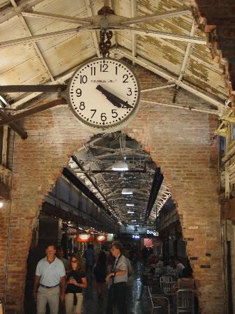 The Standard, High Line: inside Chelsea Market