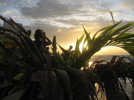 Sunset Beach Bar: Sunset qui porte bien son nom