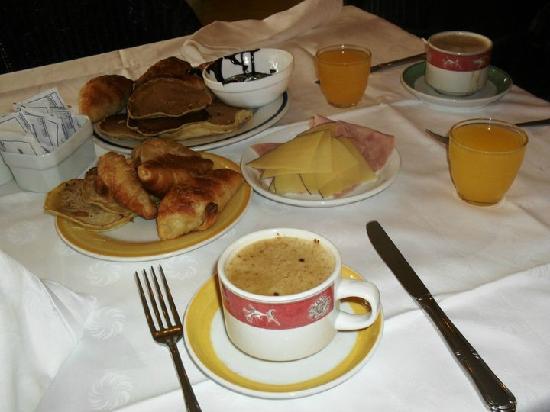 Sol Palmeras: Desayunos riquísimos en el bufette del hotel....como los extraño!!!
