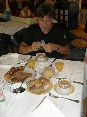Sol Palmeras: Mmm...q ricos desayunos para arrancar el día con todas las pilas!!!