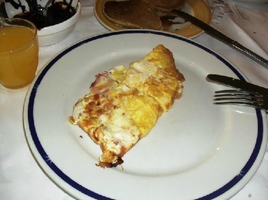 Sol Palmeras: Omelette!!! desayunando en el bufette
