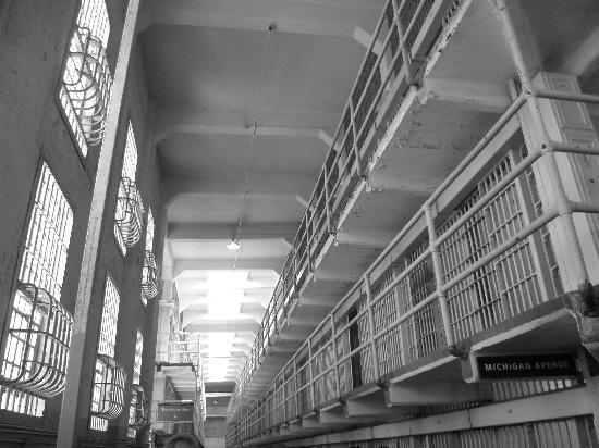 อัลคาทราซ: Main prison building