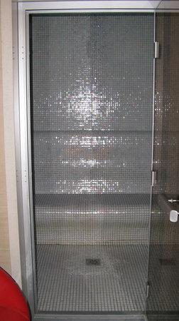 Iakovaki Suites & Spa: The brilliant shower/hamam